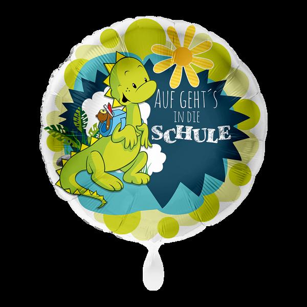 """Picture of Folienballon """"Auf geht's in die Schule"""""""