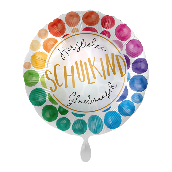 Picture of Folienballon Schulkind Glückwunsch