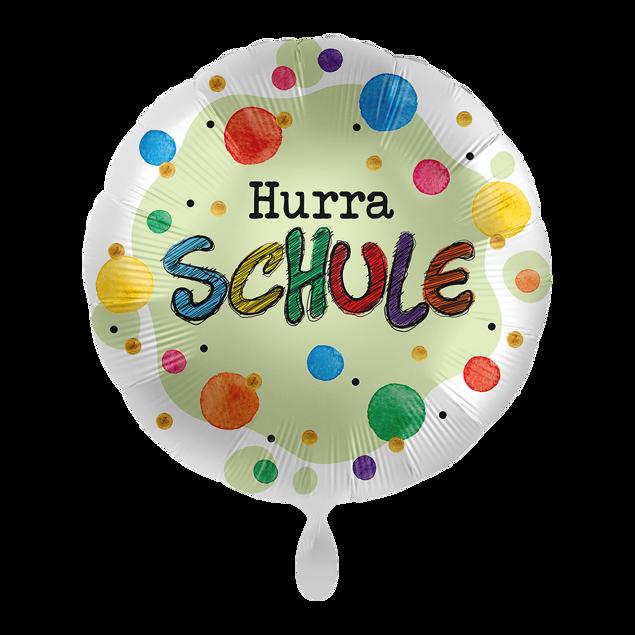 """Bild von Folienballon """"Hurra Schule"""""""