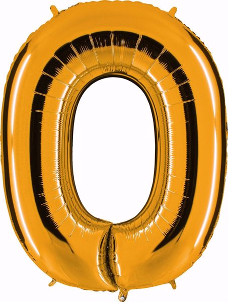 Picture of Folienballon O Altgold Buchstabe XXL