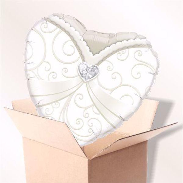 Picture of Folienballon Wedding Gown im Karton