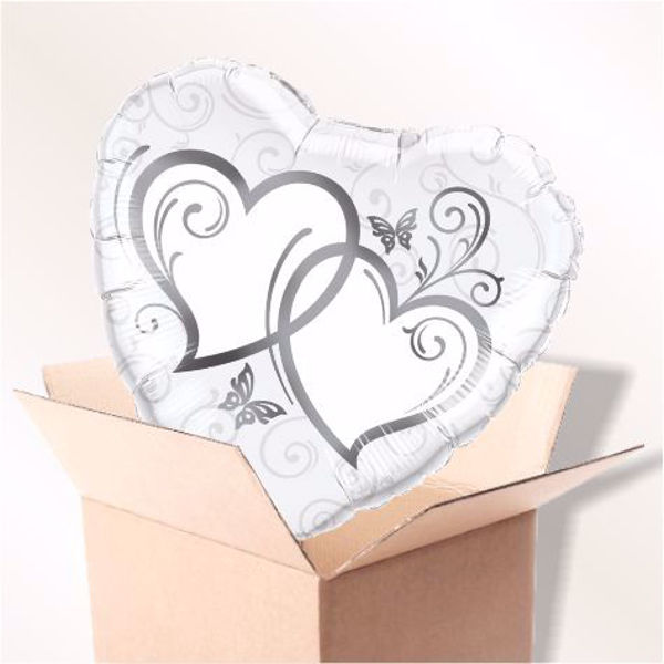 Picture of Entwined Hearts silber im Karton