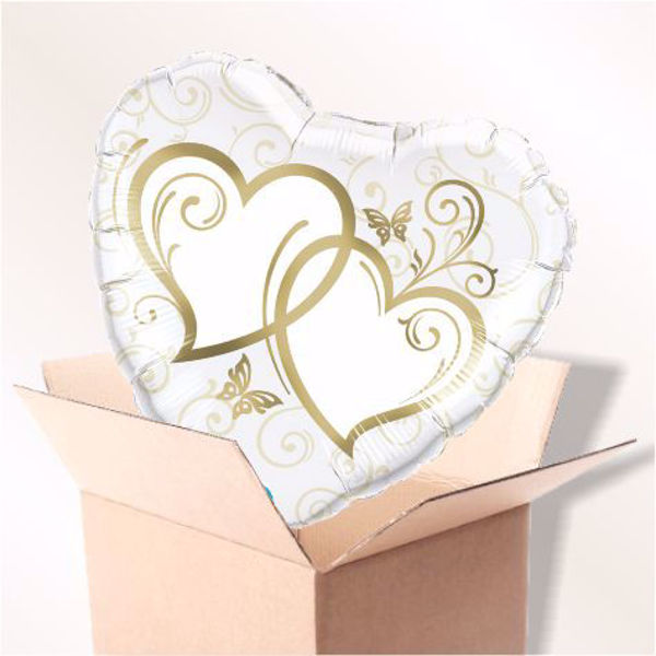 Picture of Entwined Hearts gold im Karton