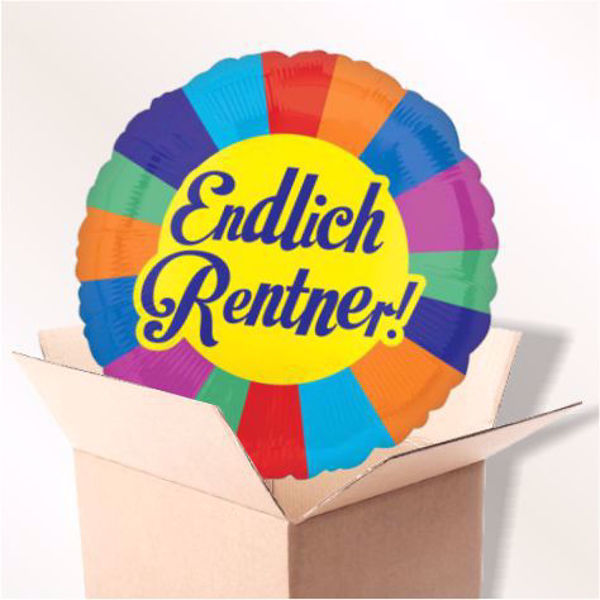 Picture of Endlich Rentner im Karton