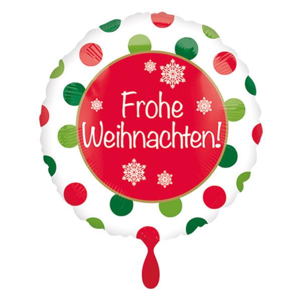 Picture of Folienballon Frohe Weihnachten