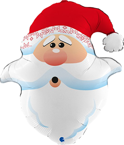 Picture of Folienballon Shape neugieriger Weihnachtsmann