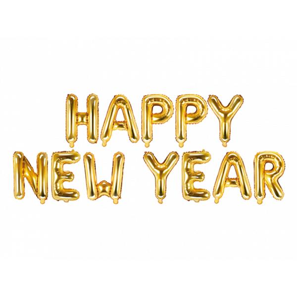 Picture of Folienballon Schriftzug Happy New Year