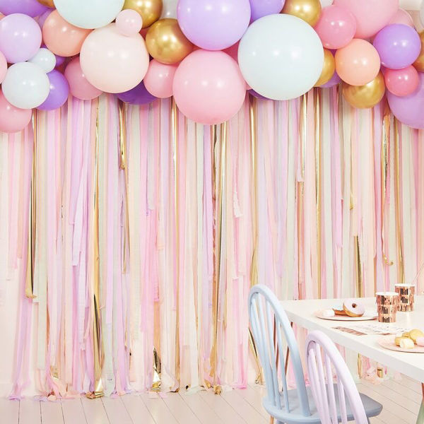 Picture of Ultra Pastel Ballongirlanden Set