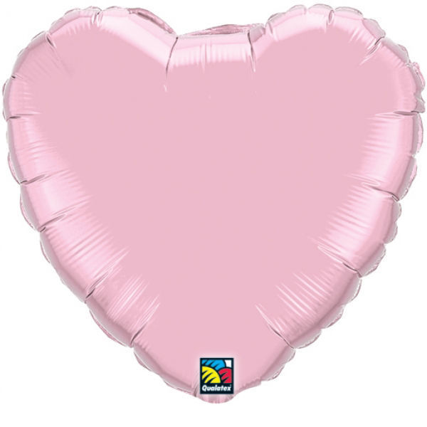 Picture of Folienballon Herz 45cm Pearl Pink