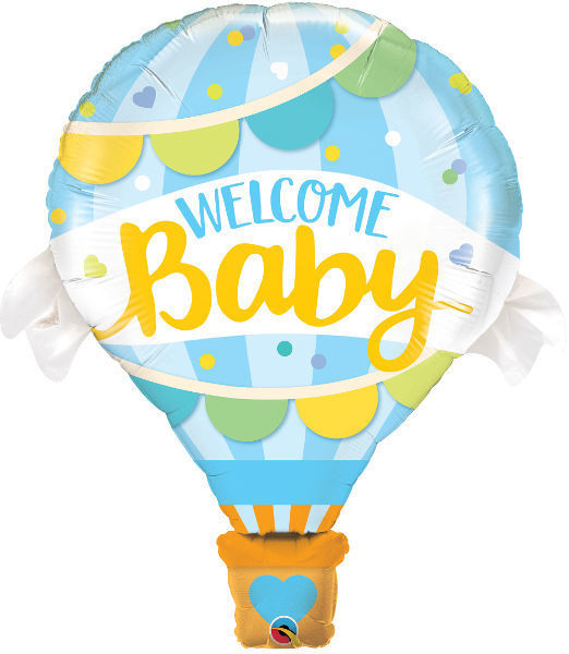 Picture of Welcome Baby blau Folienballon 42""