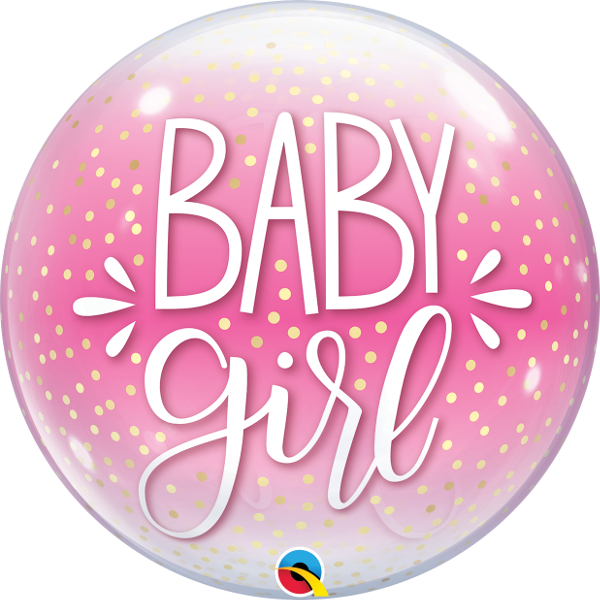 Picture of Baby Girl single bubble 22""