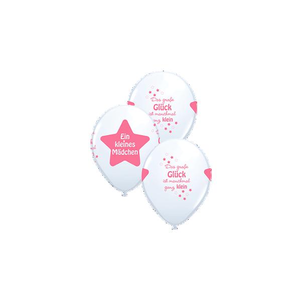 Picture of Latexballon ein kleines mädchen 11 inch