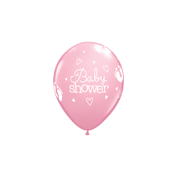 Picture of Latexballon Baby shower Rosa 11 inch