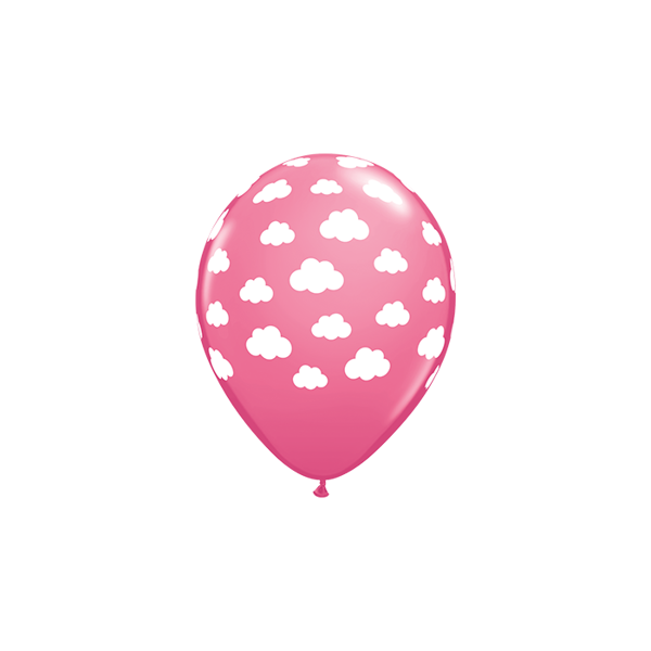 Picture of Latexballon Pink Wolken 11 inch