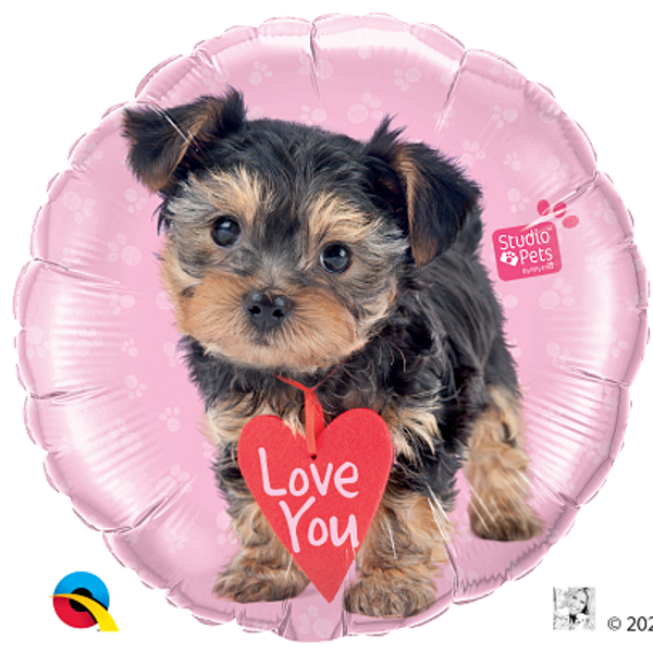 "Picture of Folienballon 18 "" Terrier ""Love You"""