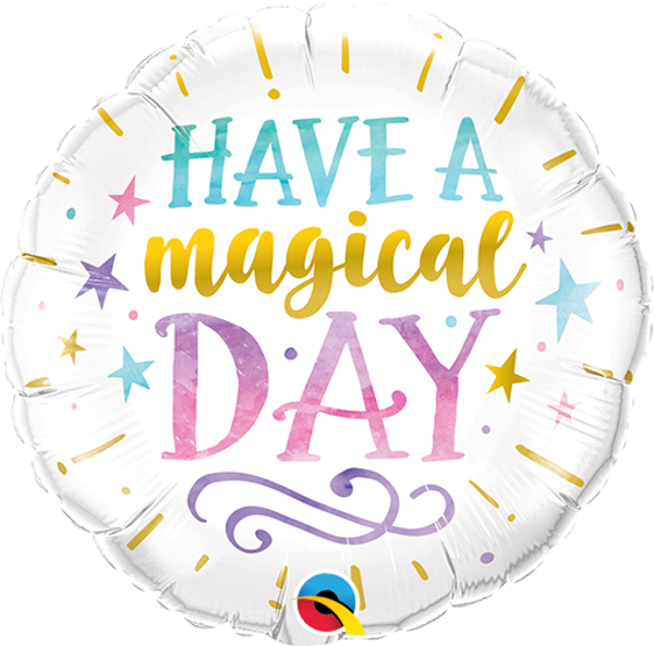 Picture of HAVE A MAGICAL DAY Folienballon 18""
