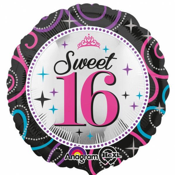 "Picture of Sweet 16 Sparkles Folienballon 18"""