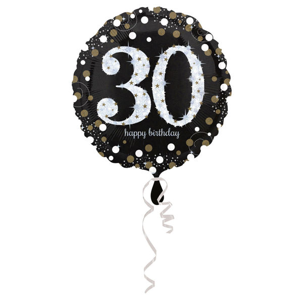 Picture of Sparkling Birthday 30 Folienballon
