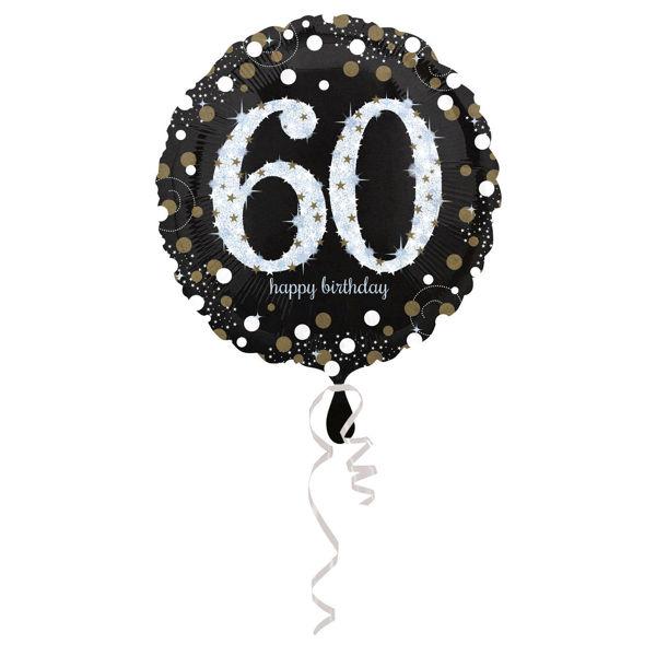 Picture of Sparkling Birthday 60 Folienballon