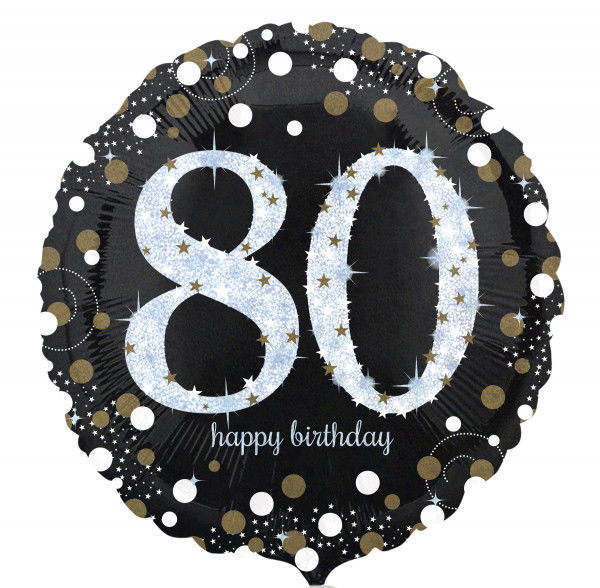 Picture of Sparkling Birthday 80 Folienballon