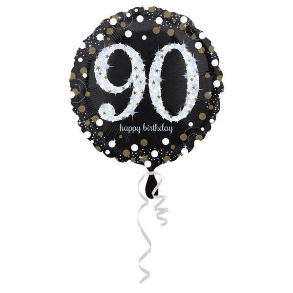 Picture of Sparkling Birthday 90 Folienballon