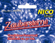 Picture of Zimmerfontäne Zaubersterne 4 Stück