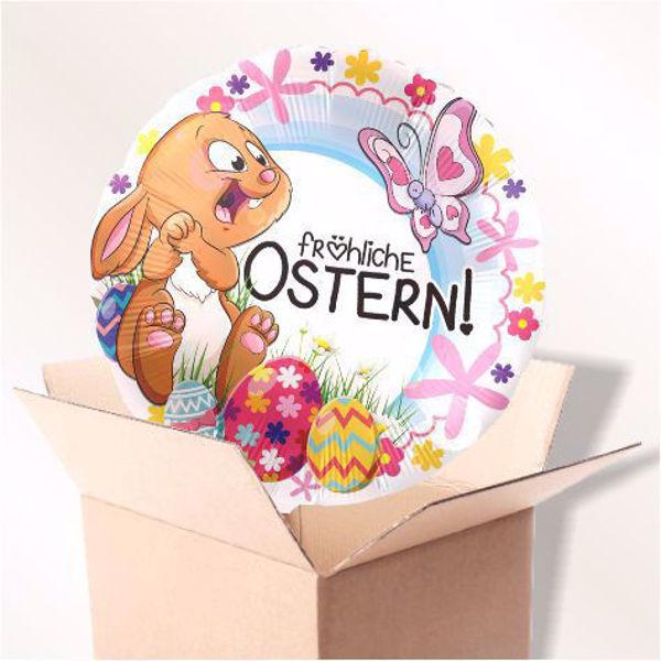 Picture of Folienballon Frohe Ostern im Karton
