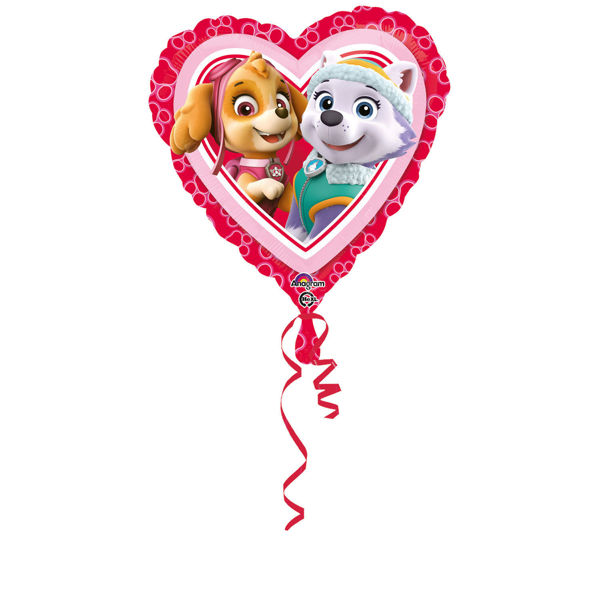 "Picture of ""Paw Patrol Pink - Love"" Folienballon"