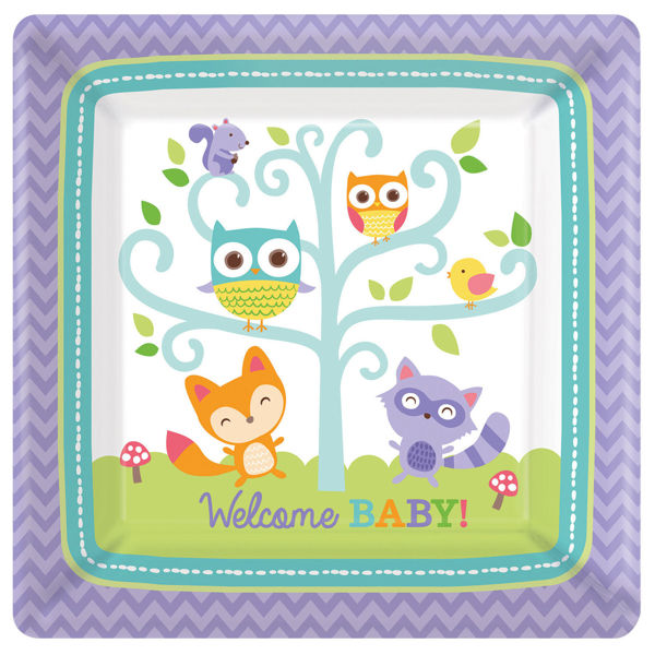 Picture of 8 Teller Woodland Welcome Baby