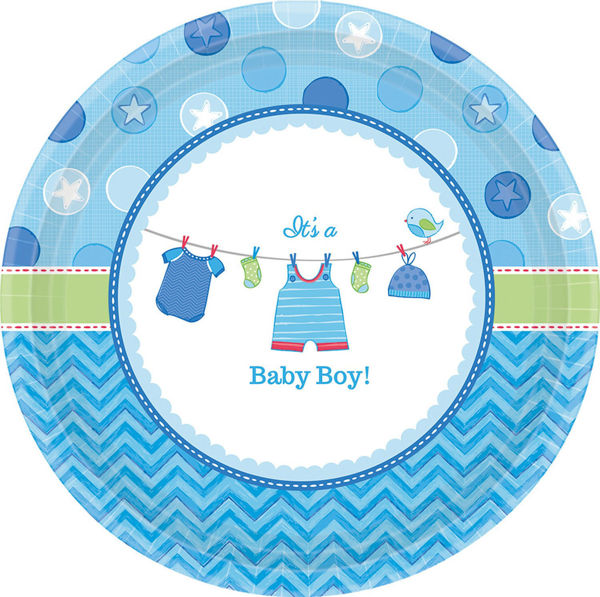 Picture of 8 Teller Baby Shower With Love Boy
