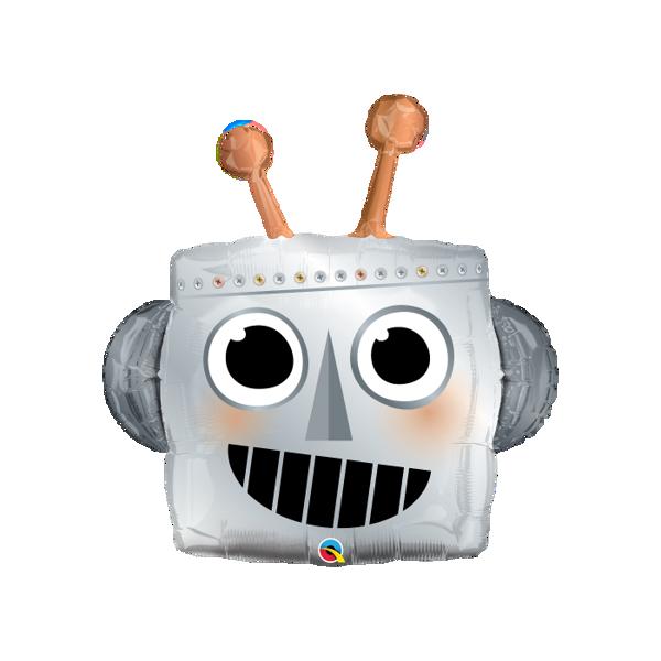 Picture of Folienballon Roboterkopf