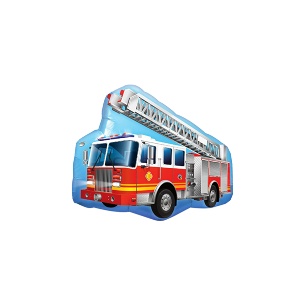 Picture of Supershape rotes Feuerwehrfahrzeug