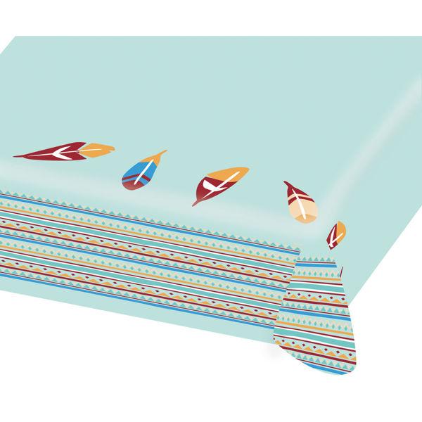 Picture of Tischdecke Tepee & Tomahawk Papier