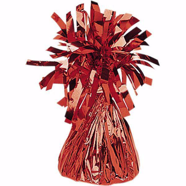 Picture of Ballon Gewicht Folie Rot