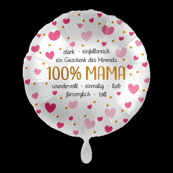 """Picture of 100% Mama Folienballon 17"""""""