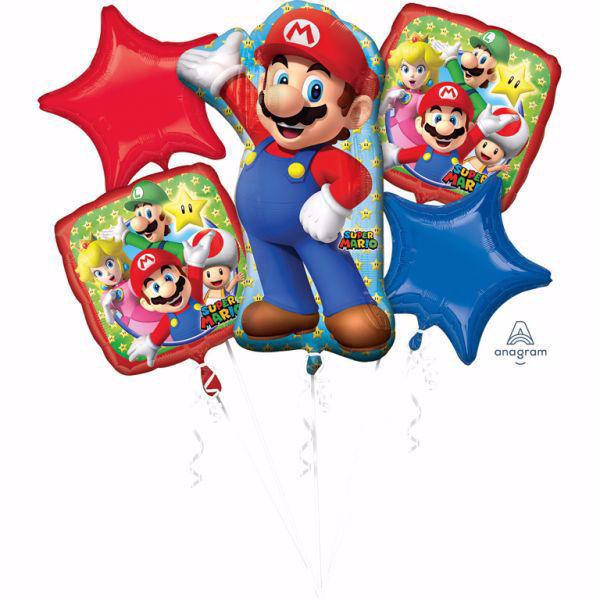 Picture of Bouquet Set Super Mario Folienballon