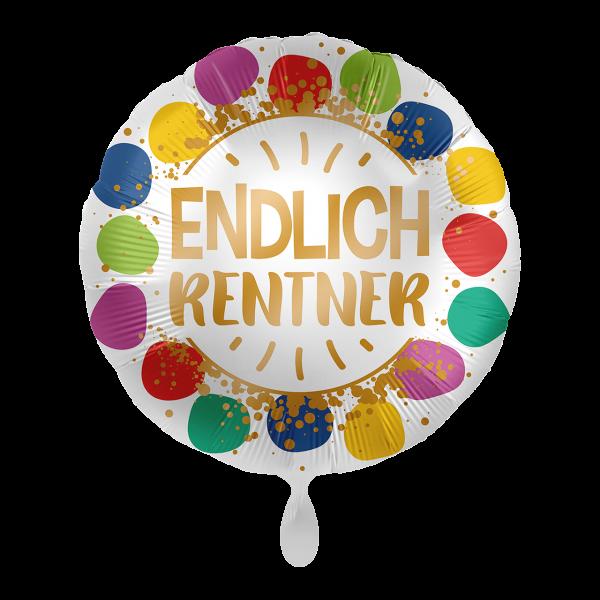 "Picture of Endlich Rentner Folienballon 17"""