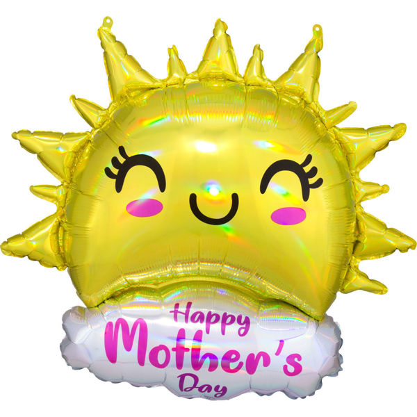 Picture of Happy Mother's Day Happy Sun Folienballon