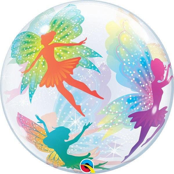 "Picture of MAGICAL FAIRIES & SPARKLES Single Bubbles 22"""