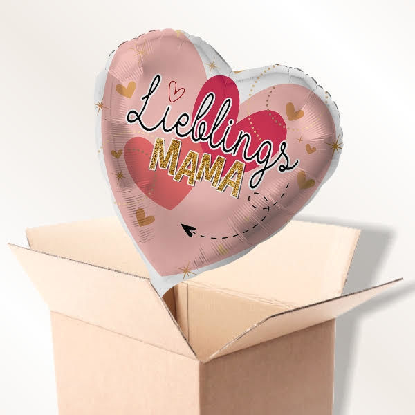 Picture of Folienballon Lieblingsmama im Karton