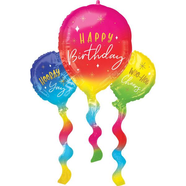 Picture of Birthday Fun Balloons Folienballon SuperShape