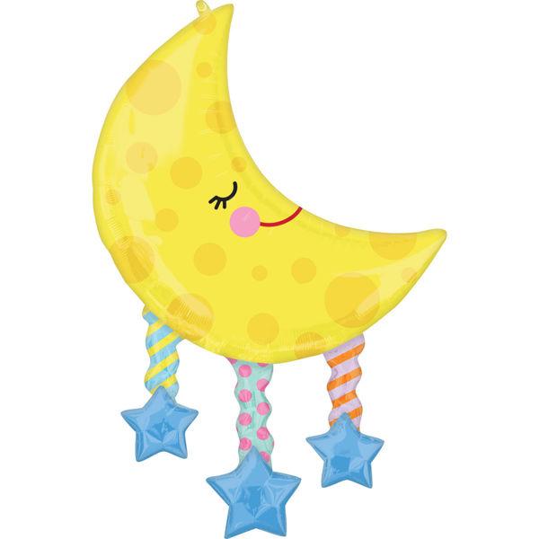 Picture of Moon And Stars Folienballon SuperShape