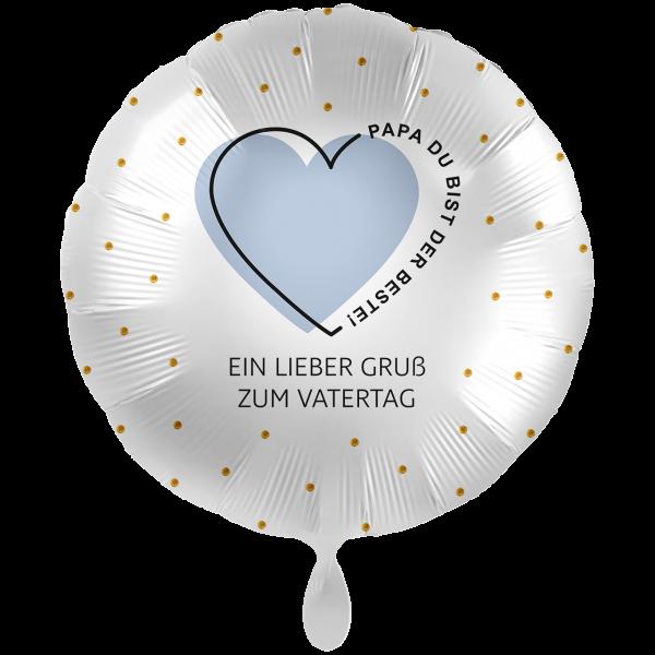 """Picture of Lieber Gruß zum Vatertag Folienballon XXL 28"""""""