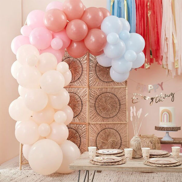 Picture of Muted Pastel Ballongirlanden Set