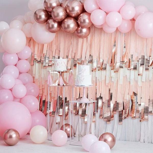 Picture of Pink und Rosa Ballongirlanden Set