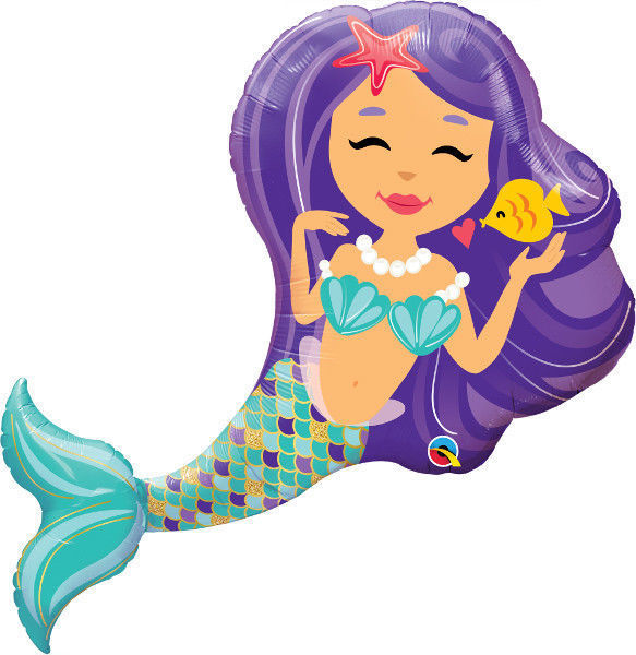 "Picture of Enchanting Mermaid Folienballon 38"""