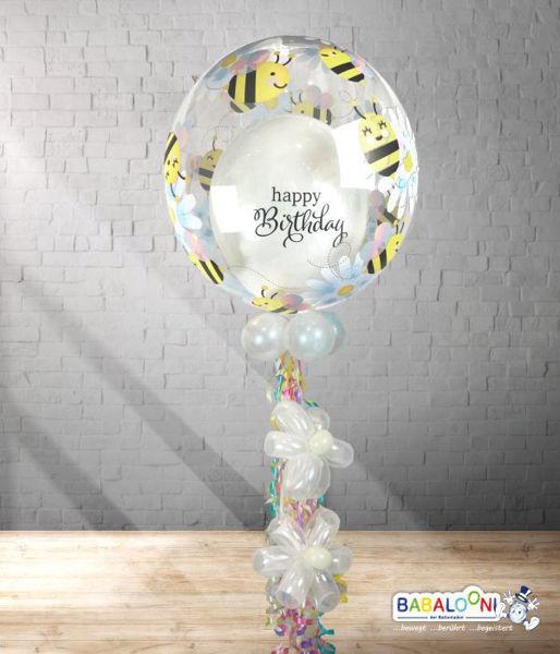 Picture of Dekobubble Happy Birthday and Bee Happy