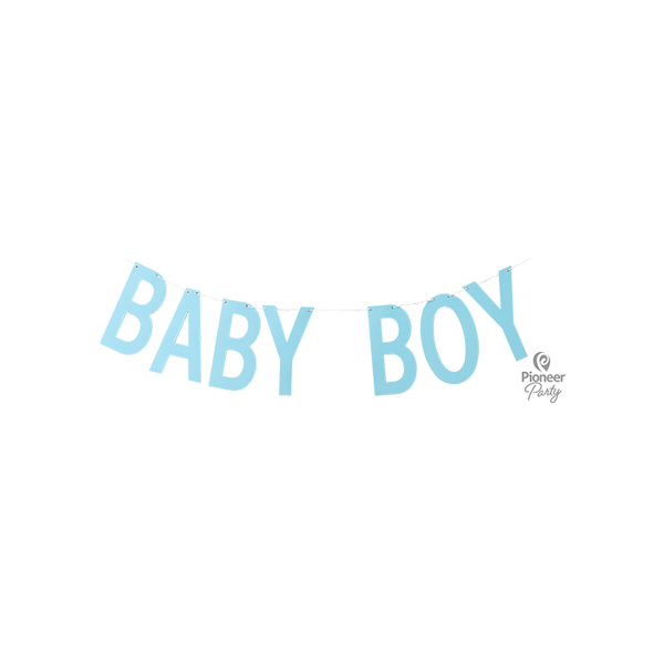 Picture of Banner Baby Boy Blue 2m