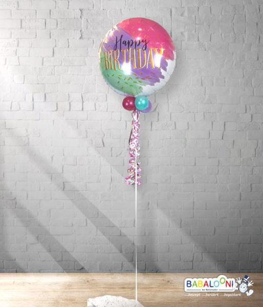 Picture of Water Color Folienballon mit Deko