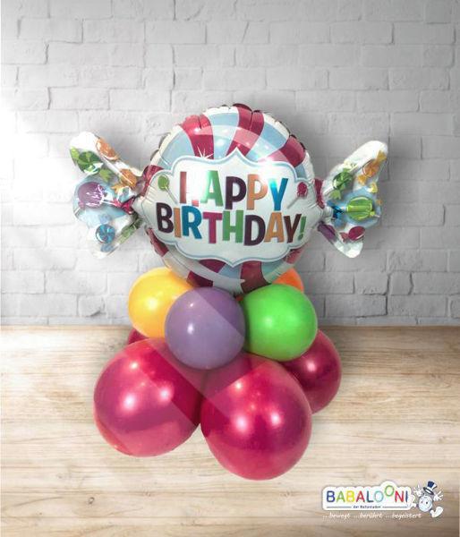 Picture of Tischarrangement Sweet Birthday Bonbon